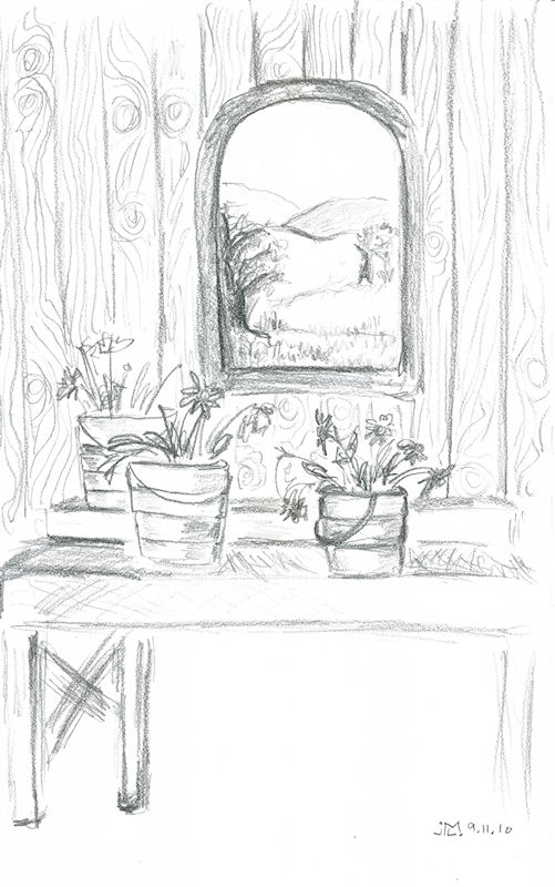 A design a day day 358 taking inspiration from nature for Window design sketch