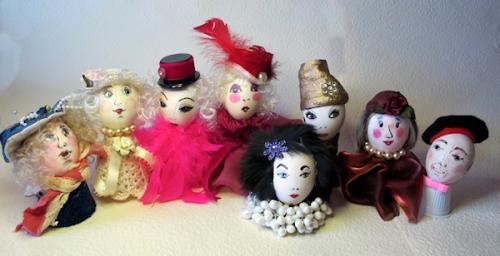 Photo of 8 egg-heads, taken by Joana Miranda
