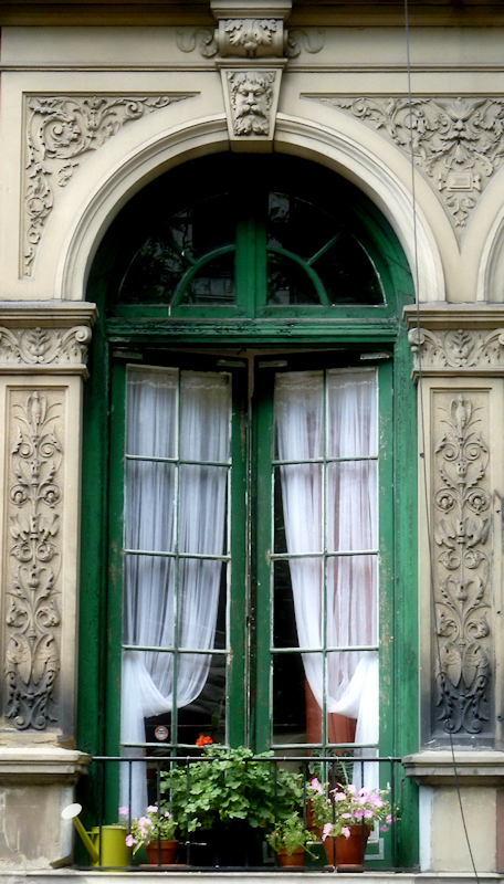 My favorite things brownstone windows on the upper west for French doors and side windows