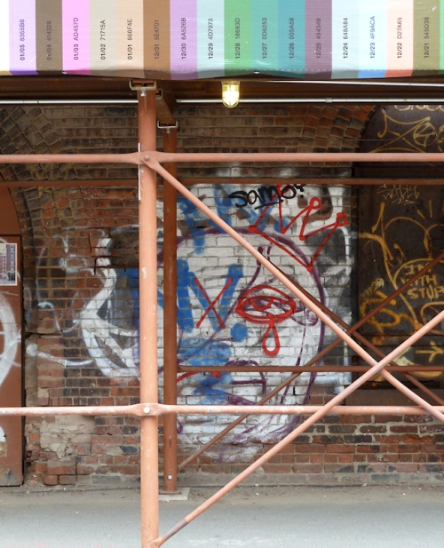 "Photo of ""tragic"" graffiti seen on wall in Brooklyn, taken by Joana Miranda"