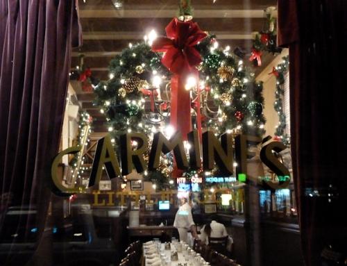 Photo of Carmine's restaurant, taken by Joana Miranda