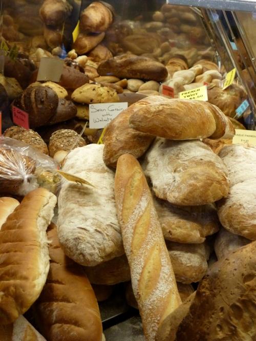Photo of breads at West Side Market, taken by Joana Miranda