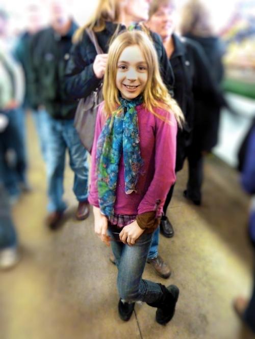 Photo of young stylish girl named Gwen, taken by Joana Miranda