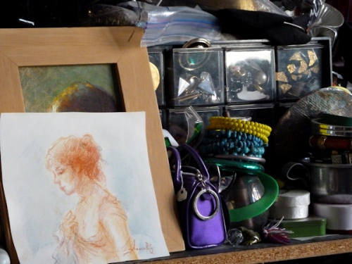 Photo of Ilona's artwork, taken by Joana Miranda