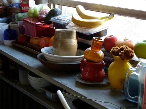 """Photo of Ilona's NY apartment """"pantry"""" taken by Joana Miranda"""