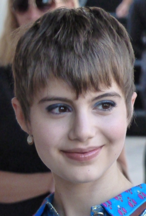 Photo of young girl with pixie haircut seen at 2012 Mercedes Benz Fashion Week - taken by Joana Miranda