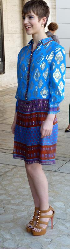 Photo of young gamine girl seen at 2012 Mercedes Benz Fashion Week - taken by Joana Miranda