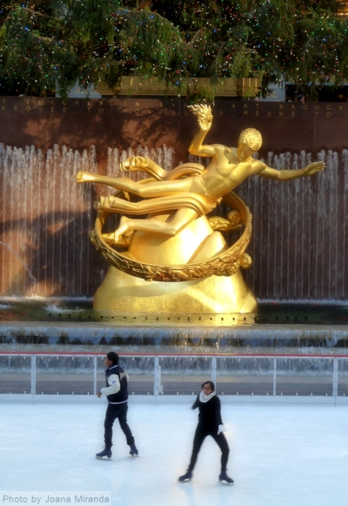 Rockefeller Center iceskating