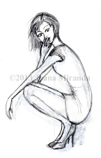 Josephine crouching prelim