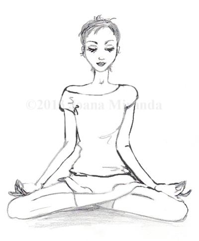meditating josephine