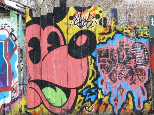 Pluto graffiti