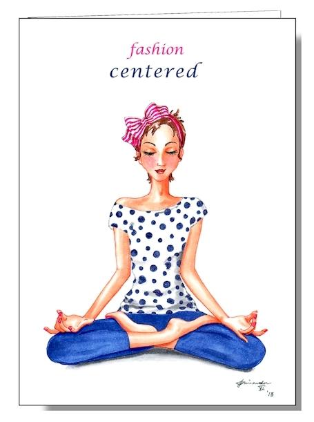 fashion centered card mockup for blog