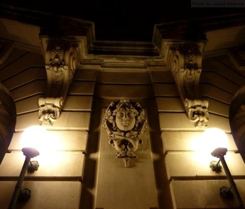 Nighttime gargoyle