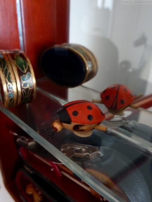 lady bug miniature toy