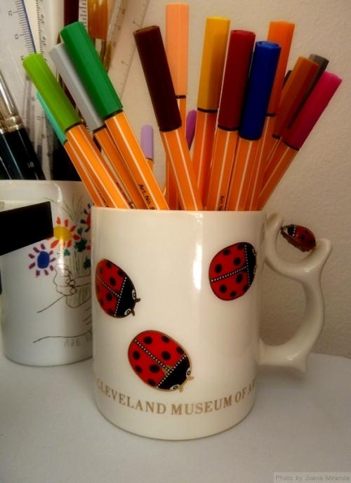 Ladybug Cleveland Museum of Art mug