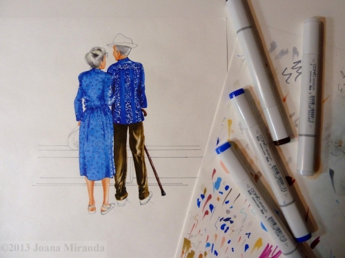 old couple in progress
