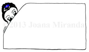 Joana Miranda Studio original business card
