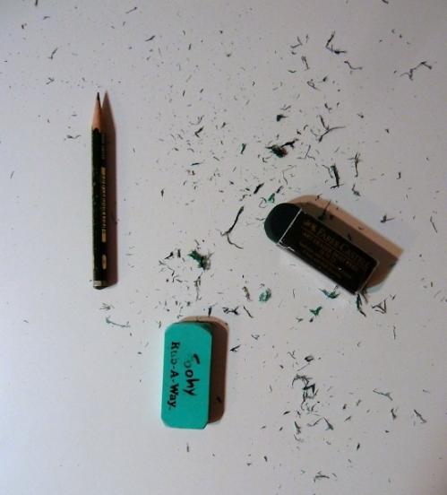 eraser stress
