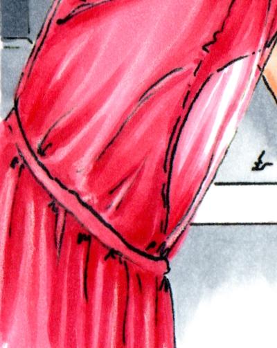 Detail of redone Love Letter to New York illustration
