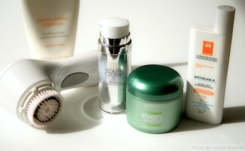 My skin products