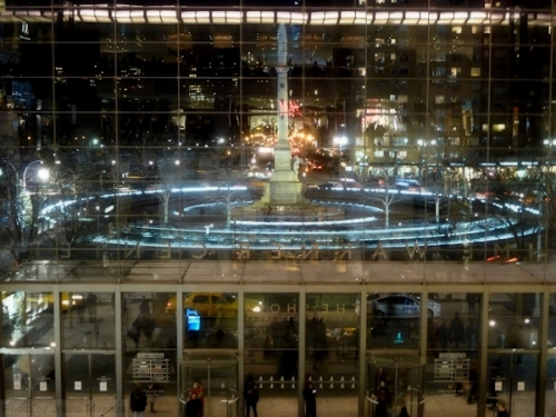 Time Warner Center at Night