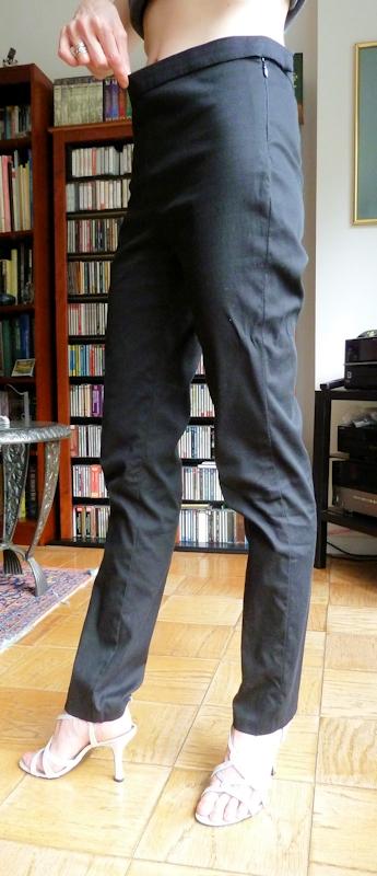 pants with waistband gap