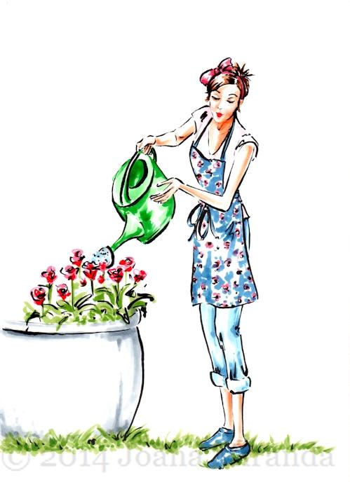 The Happy Gardener for Blog2