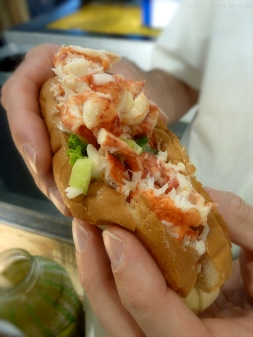 Lobster Place lobster roll