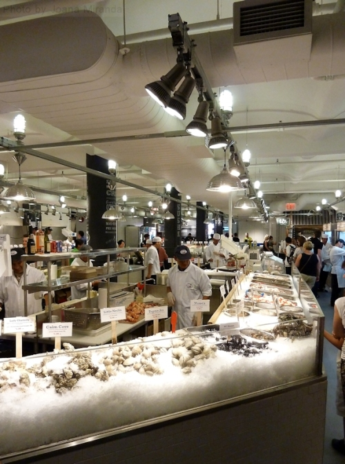Lobster Place oyster counter