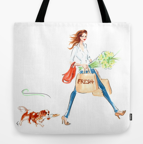 Fresh Shopping Tote