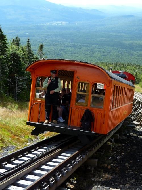 friendly train conductors