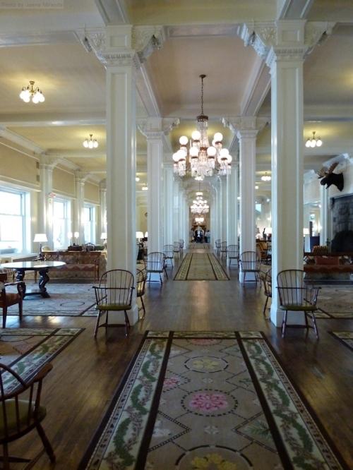 Lobby of the Mount Washington Hotel
