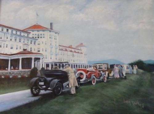 Painting of Mount Washington Hotel