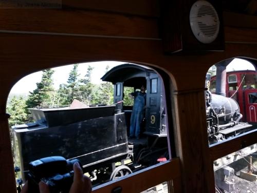 Steam railway on the Cog line