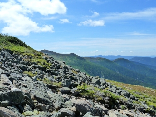 view from near the summit of Mount Washington