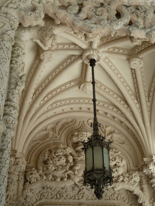 architectural details at Quinta Regaleira