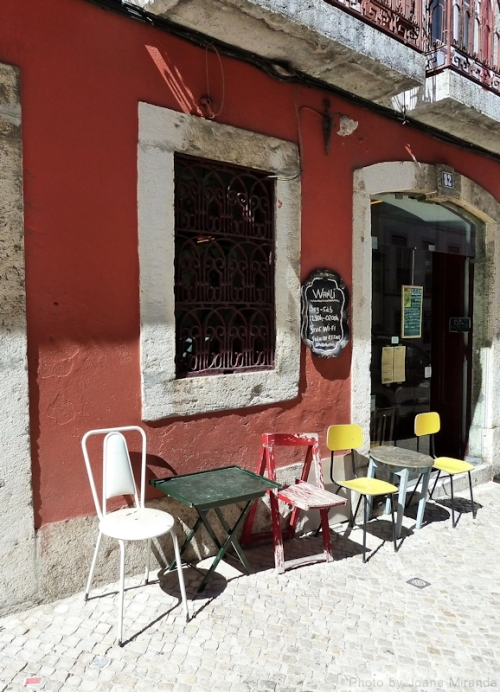 chairs in Lisbon