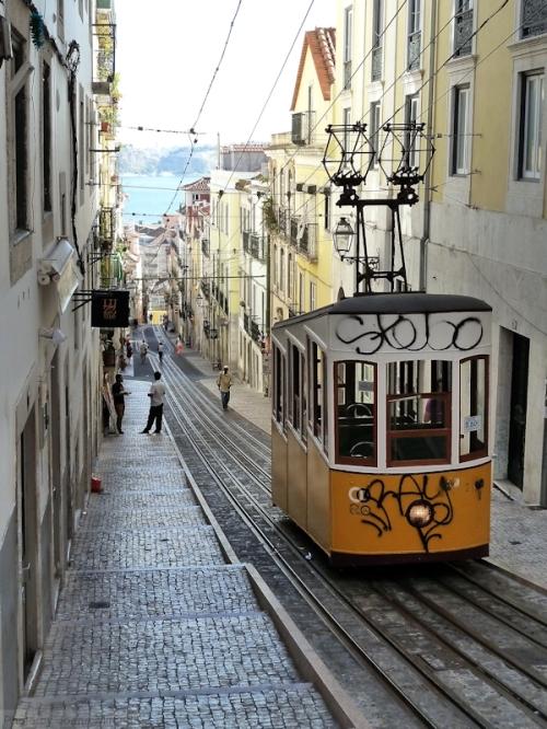 Elevador de Bica in Lisbon