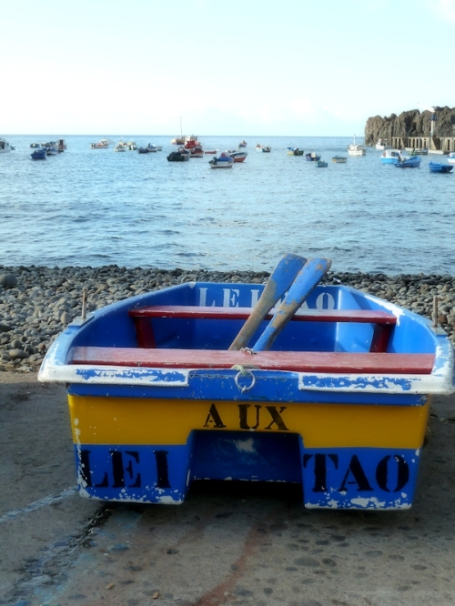 Leitao boat in Madeira