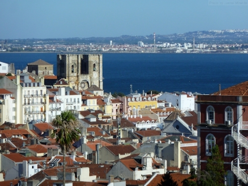 Looking toward the Tagus