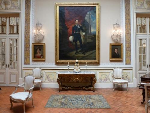 Portuguese relatives at Palacio Queluz