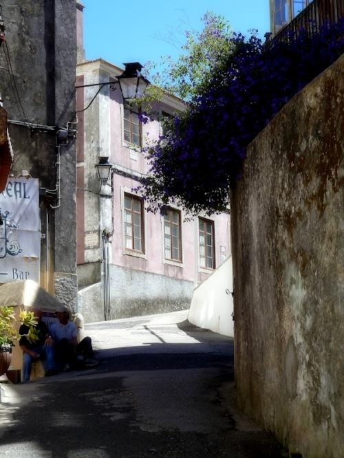 street in Sintra