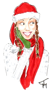 Holiday Avatar for blog