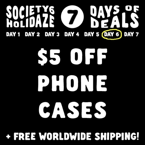 Holidaze Society6 Sale