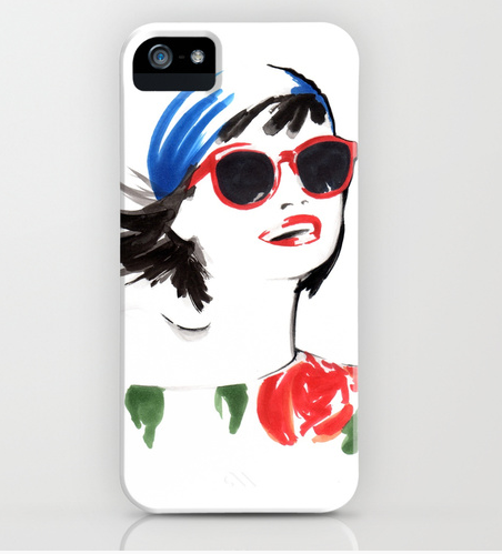 The Boho girl iphone case