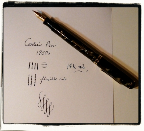 Carter's pen demo
