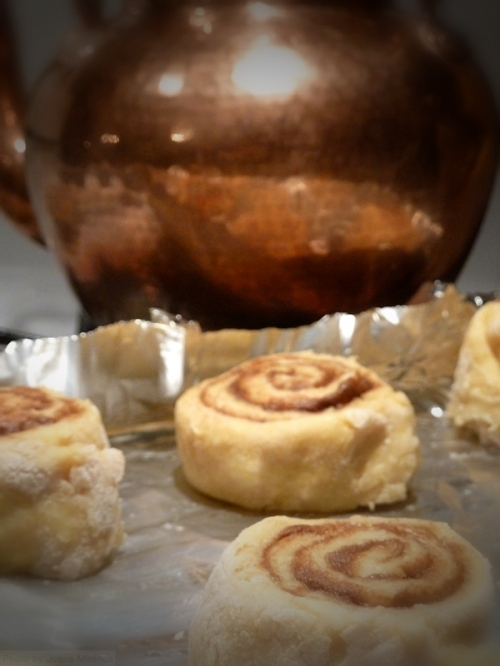 cinnamon rolls rising