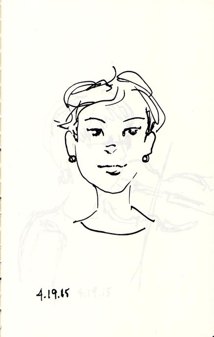 Sketch of Vicky