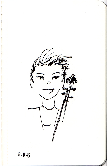Sketch of Hannah