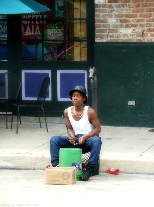 drummer in New Orleans